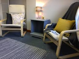 therapy room with chairs